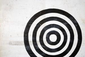 Bullseye target.